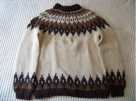 "Icelandic Sweater Men's Medium (2) Famous ""Lopi"" Wool"