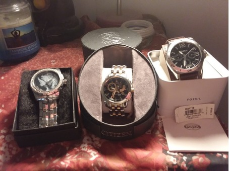 3 men's watches by Citizen eco drive, Fossil, and more ............. Jewelry, style,watch, fashion